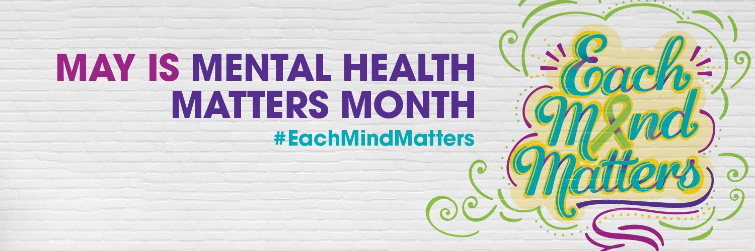 Each Mind Matters MHMM - Twitter Cover Image